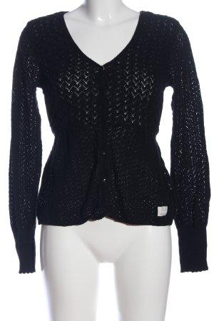 Odd Molly V-Ausschnitt-Pullover schwarz Casual-Look