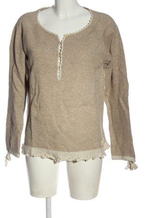 Odd Molly Maglione di lana bianco sporco-crema stile casual