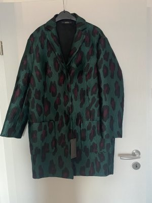 Odeeh Mantel Gr. 36 / S Original! NEU Trenchcoat grün Seide
