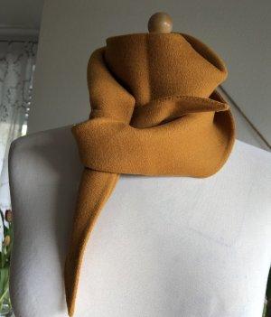 Odeeh Sciarpa di lana arancione chiaro