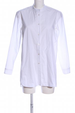 Odeeh Stand-Up Collar Blouse white business style