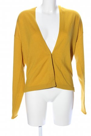 Odeeh Strickjacke hellorange Casual-Look