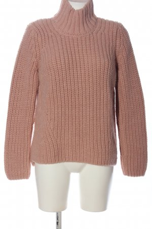 ODEON Häkelpullover pink Casual-Look