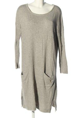 ODEON Pulloverkleid hellgrau meliert Casual-Look