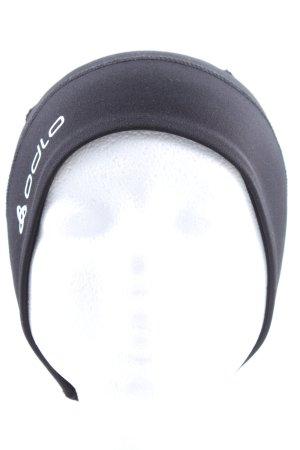 Odlo Czapka typu beanie czarny Wydrukowane logo W stylu casual