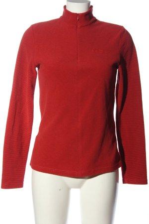 Odlo Fleecepullover rot sportlicher Stil