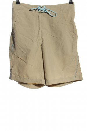 Odlo High-Waist-Shorts natural white-turquoise casual look