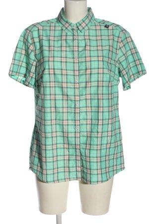 Odlo Camicia a maniche corte verde-bianco sporco stampa integrale elegante