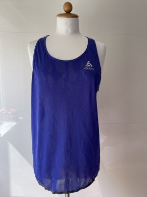 Odlo Lauf Trainings Shirt blau reflektierende Details NEU