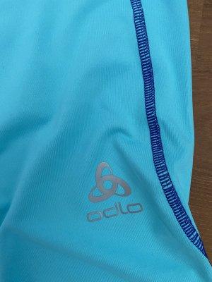 Odlo Leggings turchese-blu neon