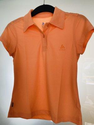 Odlo Koszulka polo jasny pomarańczowy-pomarańczowy
