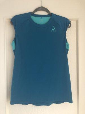 Odlo Maglietta sport blu-azzurro