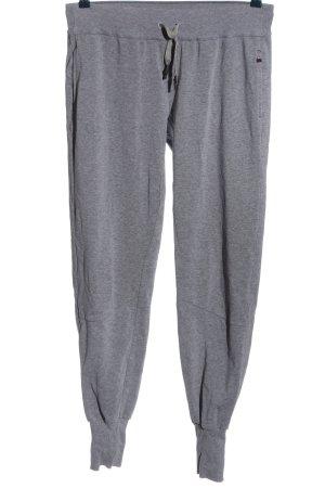 Odlo Pantalón deportivo gris claro moteado look casual