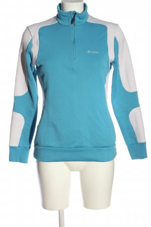Odlo Sailor Sweater blue-white printed lettering casual look