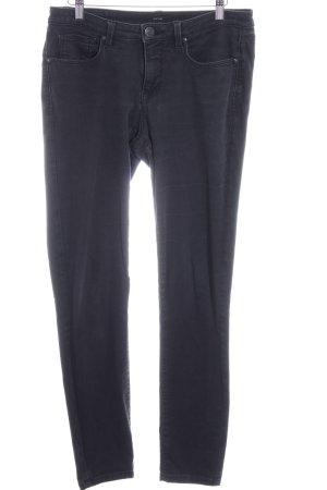 Odopus Slim Jeans schwarz Casual-Look