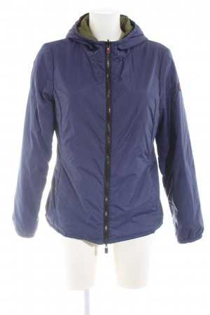 Reversible Jacket blue-khaki casual look