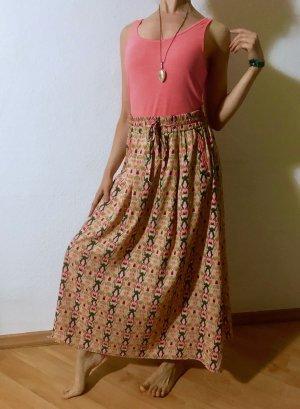 Maison Scotch Maxi Skirt multicolored