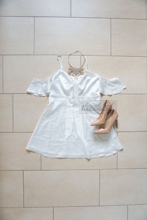 Off Shoulder Babydoll Kleid