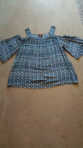 Off - Shoulder - Bluse von Apricot Gr. 48