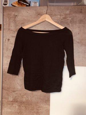 Zara One Shoulder Top black