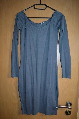 Off Shoulder Fitted Dress  Nicki x NA-KD, Grau 38