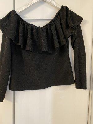 Off shoulder Glitzer Shirt