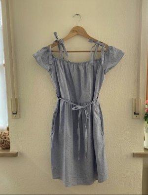 Esprit Sukienka z rękawem balonowym Wielokolorowy