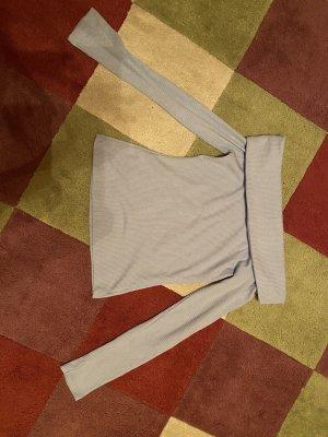 Off-Shoulder Langarmshirt