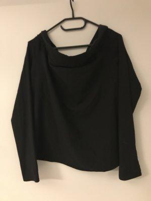ROAD Koszula typu carmen czarny Poliester