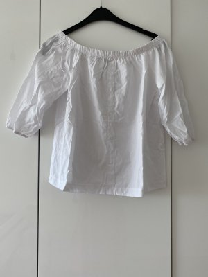 Blusa kimono bianco-bianco sporco
