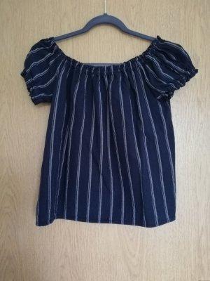 Vero Moda Koszula typu carmen biały-niebieski
