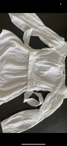 Asos Top épaules dénudées blanc