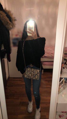 H&M Sweter z dzianiny czarny