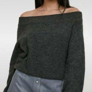 Off-Shoulder Pullover H&M