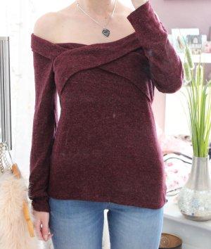 • Off Shoulder Pullover von edc