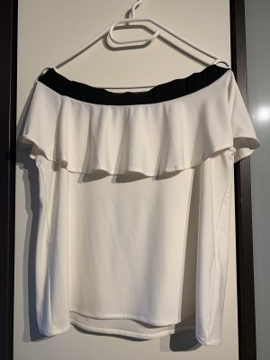 Off Shoulder Rüschen Top in Gr. M