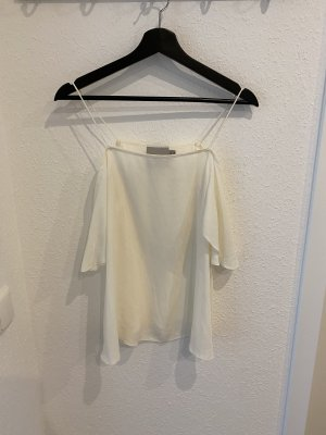 Asos Top cut out blanco puro