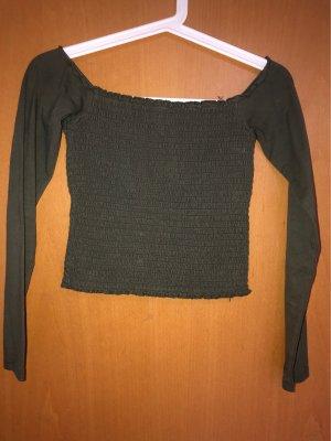 Off-shoulder shirt Hollister