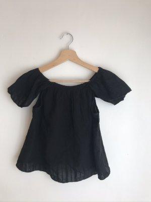 Vera & Lucy Carmen blouse zwart