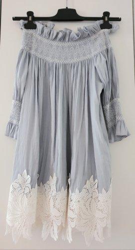 off-shoulder Storets Kleid mit Spitzensaum