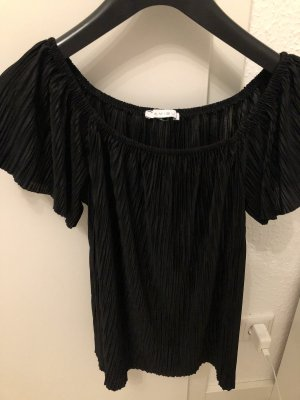 Amisu Top épaules dénudées noir
