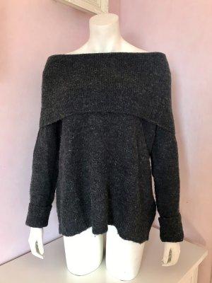 Off-Shoulder Wollpullover von Only