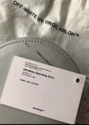 Off White Circle Wallet