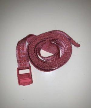 Off-White Cintura in tessuto rosa-fucsia neon