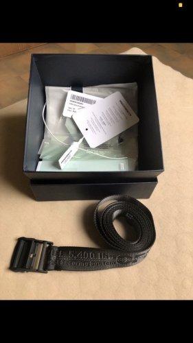 Off-White Cintura in tessuto nero
