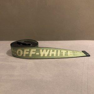 Off-White Cinturón de cadera gris verdoso