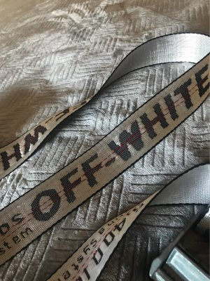 Off-White Belt Buckle silver-colored-black