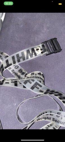 Yeezy Fabric Belt black-white