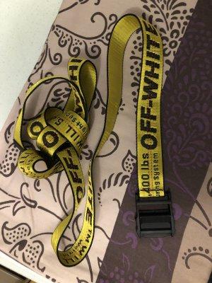 Off-White Omkeerbare riem geel-zwart