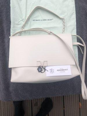 Off-White Large Binder Clip Bag
